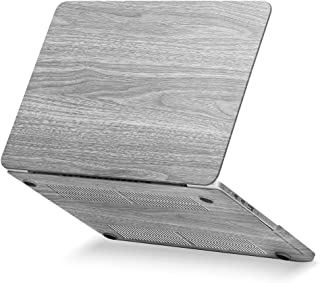 GMYLE Rubber Coated for MacBook Pro 13 inch with Retina Display (Model: A1425 and A1502) - Wooden Pattern II Rubber Coated...