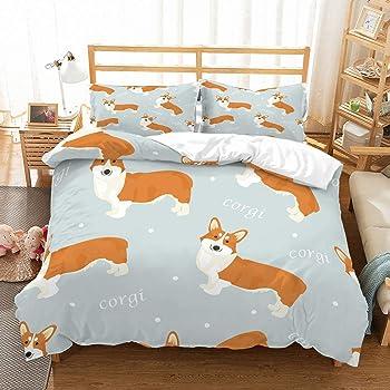PATATINO MIO Kids Dog Bedding Twin Size
