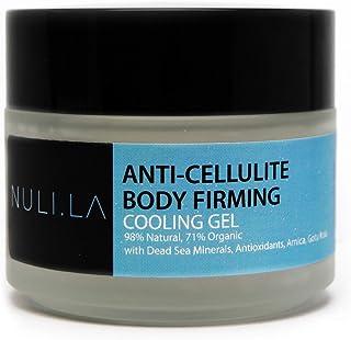 NULI LA Body Firming & Toning Gel, Anti-Cellulite Lotion, Dead Sea Minerals, Antioxidants, Gotu Kola, 98% Natural, 71% Org...
