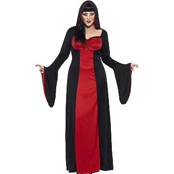 Smiffys Smiffys-40077X2 Halloween Disfraz de vampiresa siniestra ...