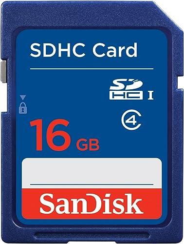 """Carte mémoire SDHC """"Standard"""", 16GB, Cl.4"""