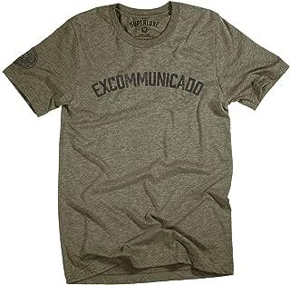Mens/Womens/Unisex Excommunicado Continental T-Shirt
