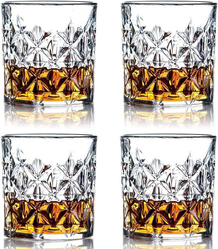 Challenge the lowest price of Japan ☆ SZMMG Whiskey Glasses -11.5 Oz Lead-free Special price for a limited time Rocks Fash Old