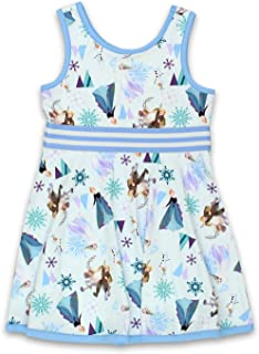 Disney Frozen Toddler Girls Fit and Flare Ultra Soft Dress