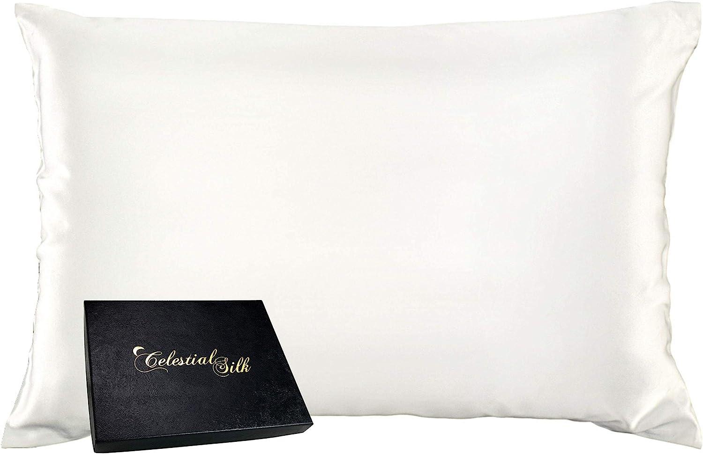 Celestial Silk 100% Pillowcase for Momme Overseas parallel import regular item Max 67% OFF 25 Mul Luxury Hair