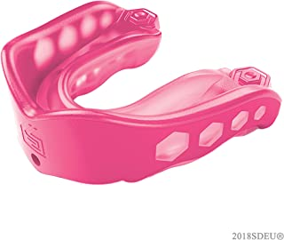 Shock Doctor Mouthguard: #1 Sport Mouth Guard - Gel Max Mouthguard for Football, Lacrosse, Basketball, Boxing, MMA, Martial Arts, and More - Includes Helmet Strap - (Youth & Adult Sizes)