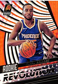 2018-19 Panini Revolution Rookie Revolution Basketball #17 Mikal Bridges Phoenix Suns Official NBA Trading Card By Panini