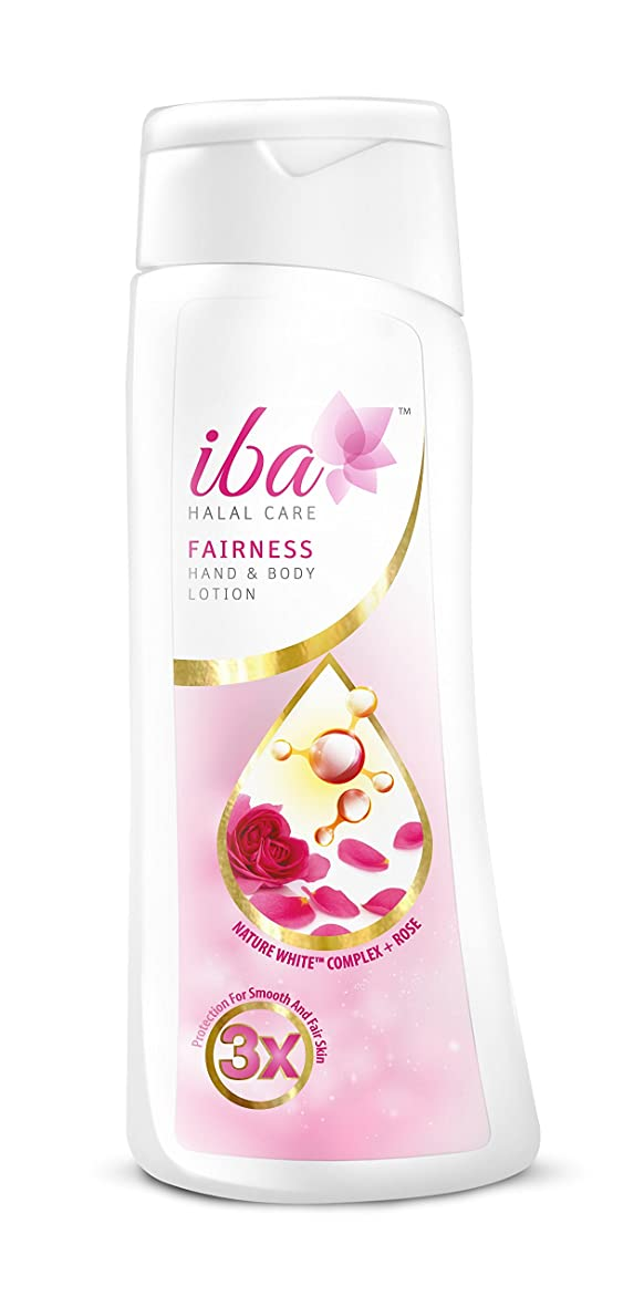 きしむ哀強いIba Halal Care Fairness Hand and Body Lotion, 200ml