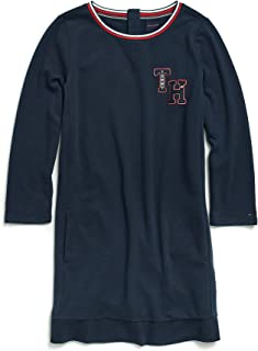 Tommy Hilfiger Women's Adaptive Sweatshirt Dress with Magnetic Button Closures