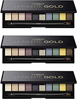 Color Riche Eyeshadow Palette - (Gold)