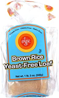 Ener-G Foods Loaf - Brown Rice - Yeast-Free - 19 oz - case of 6 - - Gluten Free - - Yeast Free - Wheat Free-