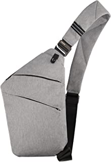 OSOCE Multi-Pocket Crossbody, Brusttasche Herren,Anti-Diebstahl Brusttasche