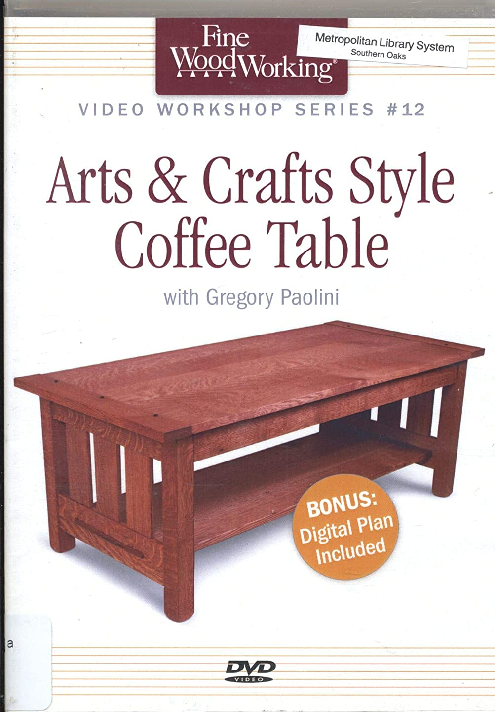 Arts & Crafts Coffee Table