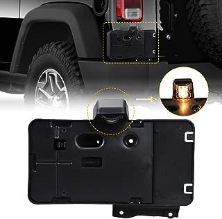 License Plate Holder Frame, Rear License Plate Mounting Bracket for 2007-2017 Jeep Wrangler JK JKU