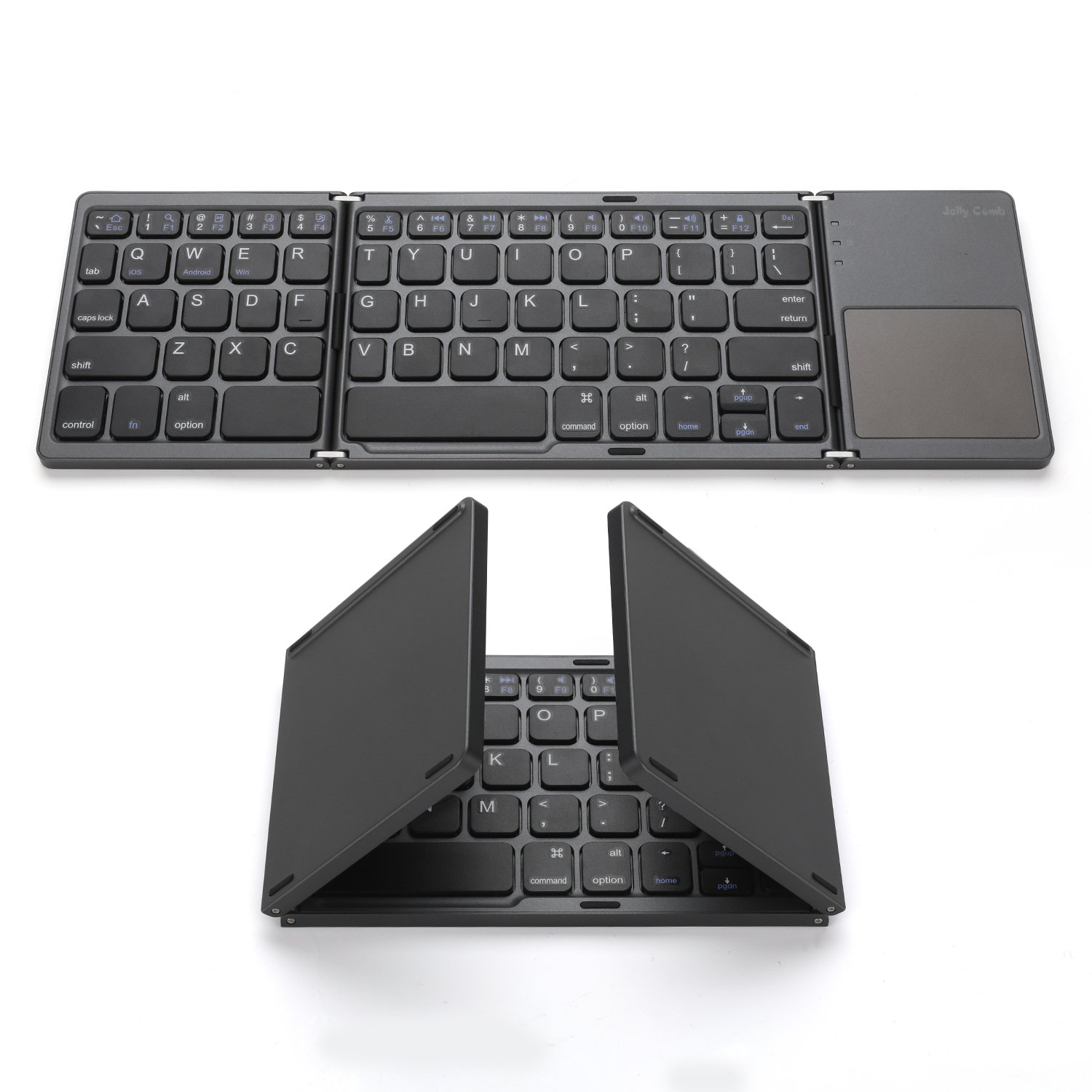 Foldable Bluetooth Keyboard Jelly Comb