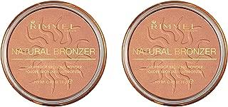 Rimmel Natural Bronzer, Sunshine, 0.18 oz, Pack of 2