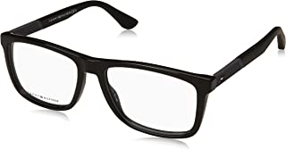Tommy Hilfiger 1561 Monturas de gafas para Hombre, color Negro, 55 mm
