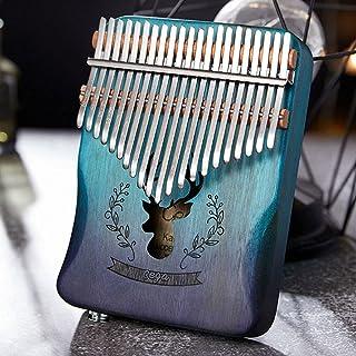 Portable Kalimba Pouce Piano 21 Touches, Acajou Pouce Piano Doigt Piano Kalimba 21 Touches Instrument De Musique Mbira Mar...