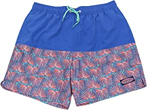 Vineyard Vines Men's Fan Plum Pieced Chappy Swim Trunks Shorts (XL X-Large)