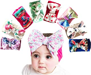 Baby Girl Nylon Headbands Newborn Infant Toddler...