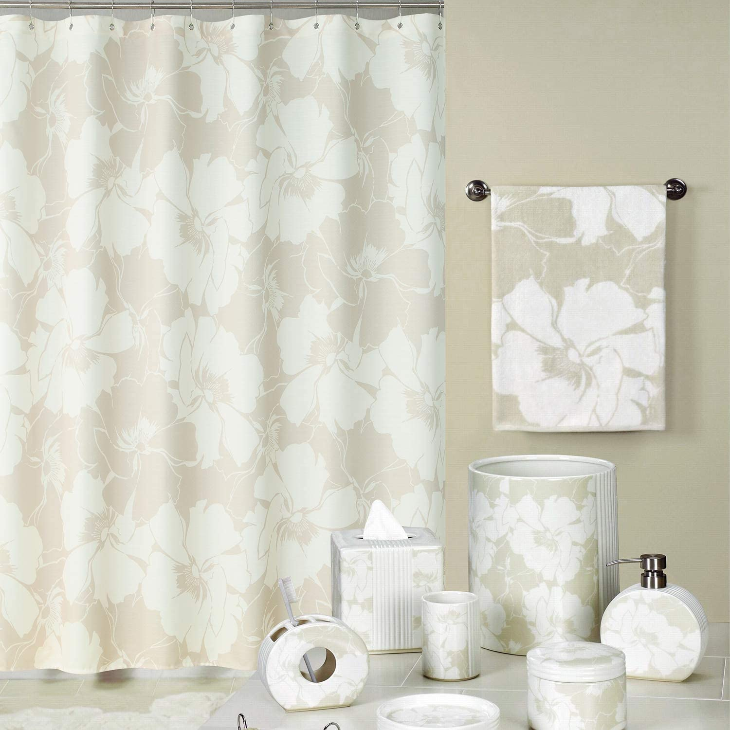 DC Curtain Graphic Floral Cash special price Polyester Japan Maker New Waterproof Fabric Cre Leaves