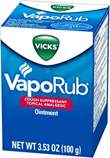Vick's VapoRub Ointment 3.53 Oz Per Jar (1 Jars)