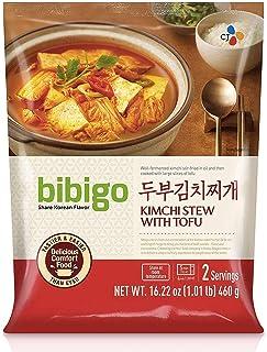 bibigo Traditional Korean Kimchi Stew with Tofu, 16.2-ounce (1-Pack)