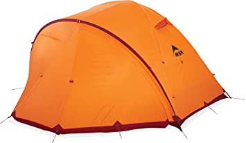 MSR Expedition-Tents msr Remote 4 Season Person Mountaineering Tent with Dome Vestibule