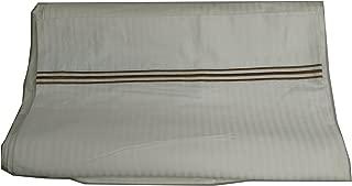"Koni Sheet Duvet Queen 90/""X76/"" Triple Line Polyester//Cotton Champagne//Ivory"