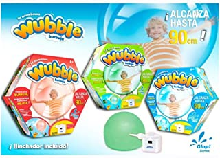 Desconocido Wubble Bubble - Pelota Transparente con Hinchador (Varios Modelos) - Burbuja wubble + hinchador std (6), Aire Libre A Partir de 6 años