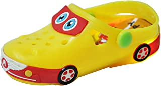 Yellow Bee Car LED Clogs for Boys