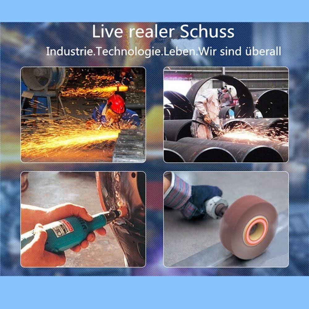 Sanding Sandpapier Flap Rad 60Grit Schleifpapier Polierscheibe F/ür Dremel Rotary Tools Bohrer Schleifer 40X25X6
