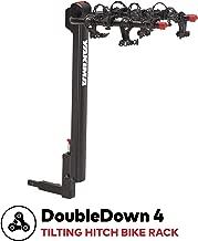 yakima - DoubleDown 4 Hitch Mount Tilting Bike Rack, 4 Bike Capacity