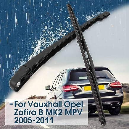 Toatgia 23 Pulgadas Negro Ventana Trasera Cortaviento Escudo limpiaparabrisas para Vauxhall Opel Zafira B MK 2