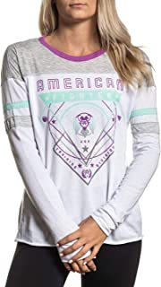 Women's Valdez Long Sleeve Panel Graphic T-Shirt