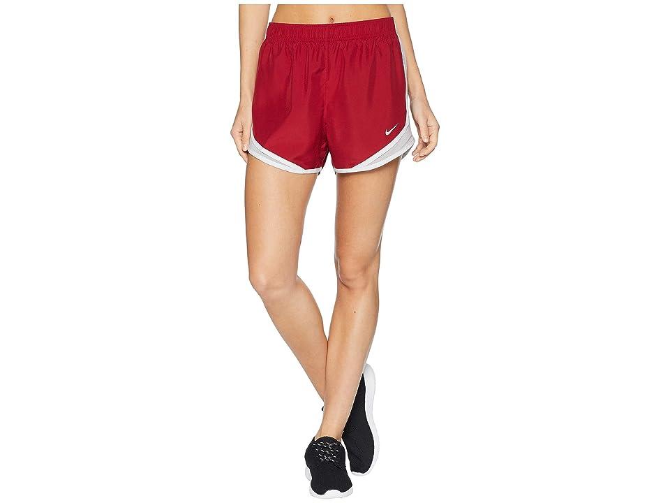 Nike Dry Tempo Short (Red Crush/Atmosphere Grey/Wolf Grey) Women