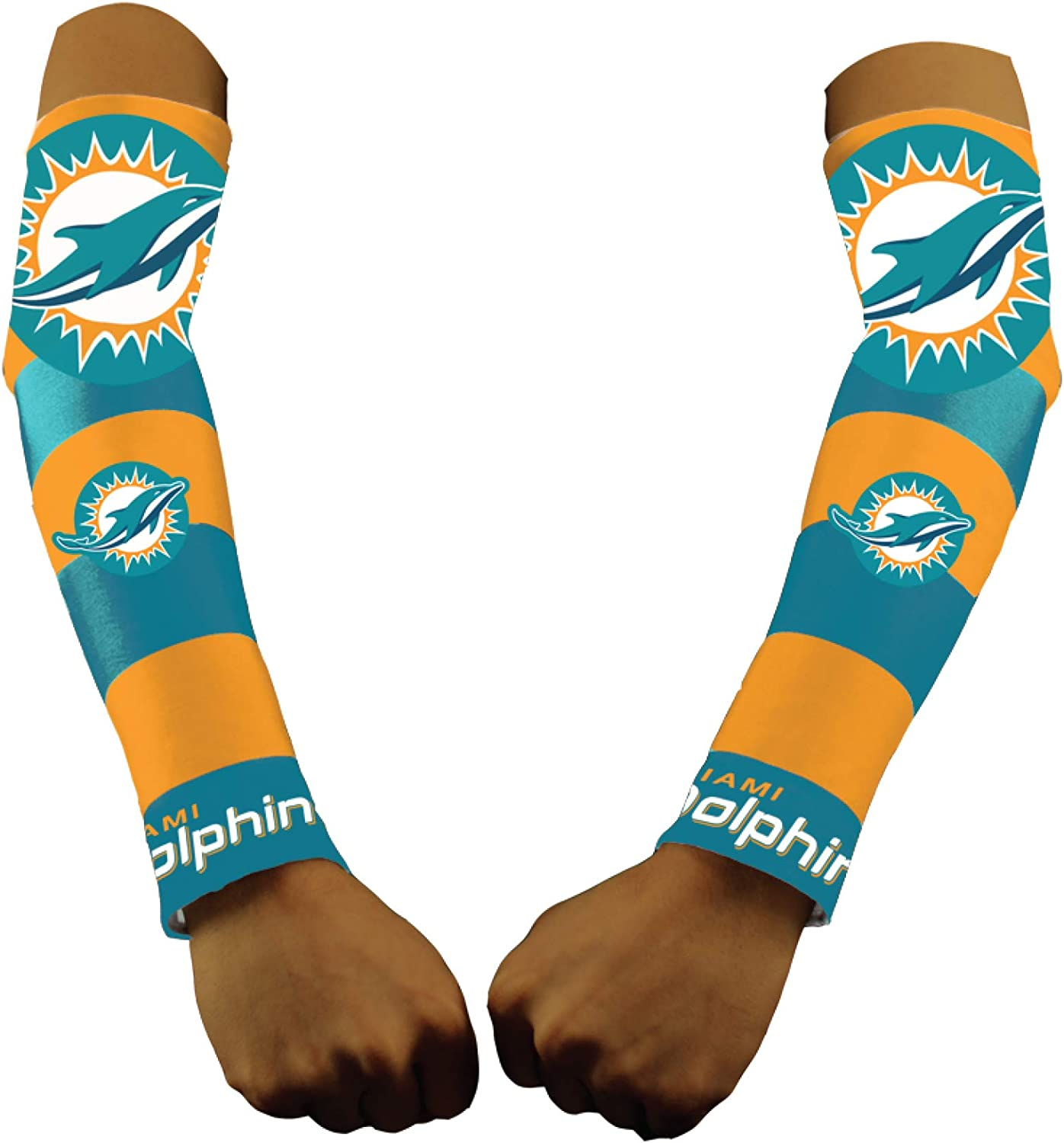 Costume Tattoo Sleeves Littlearth NFL Mens NFL Game Day Strong Arms Set of 2