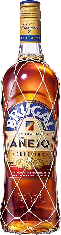 Brugal Añejo Ron Dominicano, 38% - 1 L