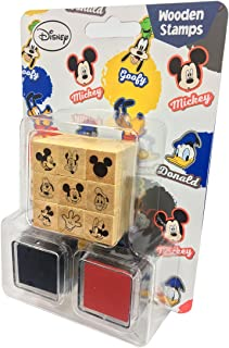 mickey rubber stamp