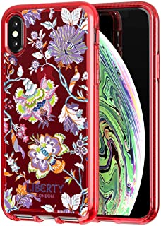 tech21 Pure Print Liberty Christelle iPhone Xs Max - Red