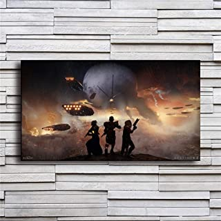 Artwcm Destiny,2 Sizes Oil Paintings Modern Canvas Prints Artwork Printed on Canvas Wall Art for Home Office Decorations-429 (Framed,16x27inch)