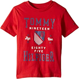 Tommy Crest Crew Neck Tee (Toddler/Little Kids)