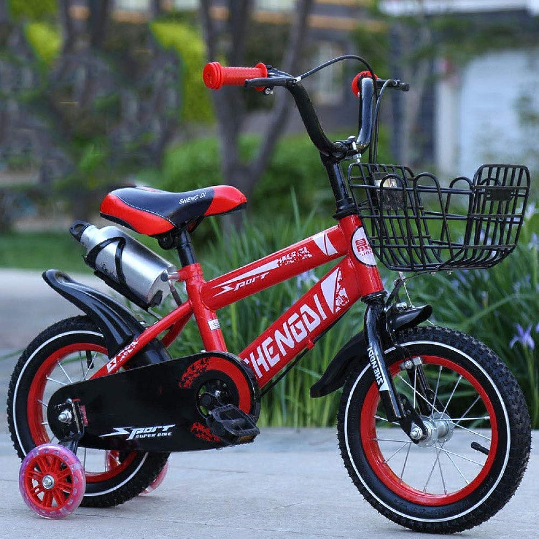 mas barato WY-Tong Bicicleta Infantil Bicicletas Infantiles Bicicletas de Montaña de de de los Hombres y Las niñas con Cesta + estabilizadores para bicis de los Niños  salida para la venta