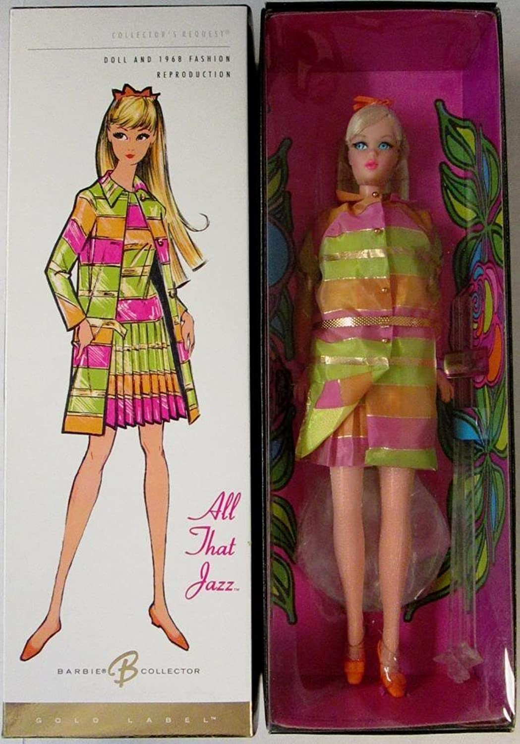 Barbie 2005 - Collector Request - Collector Edition - All That Jazz - Limited Edition - Gold Label - COA - OVP