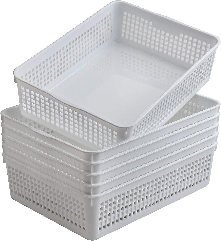 Aebeky A4 Manufacturer OFFicial Large-scale sale shop Size Plastic Paper Trays Organize Desktop File Storage