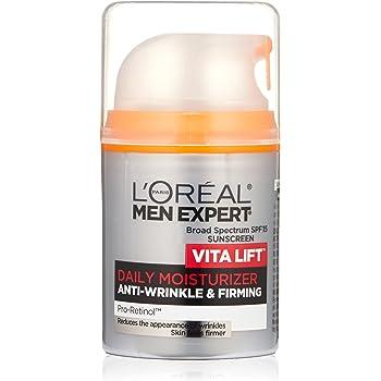 Humectante diario antiarrugas para hombre Skin Care Men de L'Oreal Paris Expert Vita Lift SPF 15