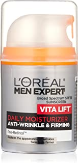 Face Moisturizer for Men, Lightweight Daily Face Lotion for men, L'Oreal Paris Skincare Men Expert Vitalift Anti-Wrinkle &...