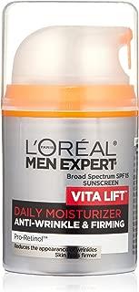 L'Oreal Paris Skincare Men Expert Vita Lift Anti-Wrinkle & Firming Face Moisturizer with SPF 15 and Pro-Retinol 1.6 fl. oz.