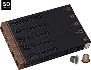 Nespresso Cosi OriginalLine Capsules, 50 Count Espresso Pods, Light Roast Intensity 4 Blend, Latin American & Kenyan Arabica & Robusta Coffee Flavors