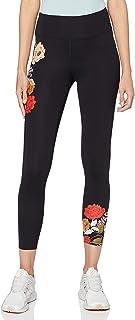 Marque Amazon - AURIQUE Floral Print Legging - Legging de sport - Skinny - Femme